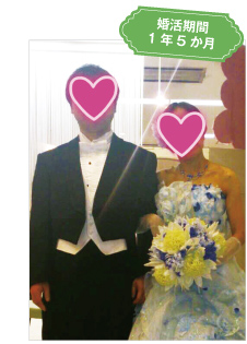 婚活期間1年5か月